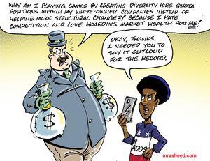 The Faux-Progress of Diversity...
