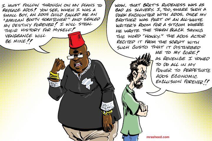 The Sociopathic Nonsense ADOS De... - M. Rasheed Cartoons