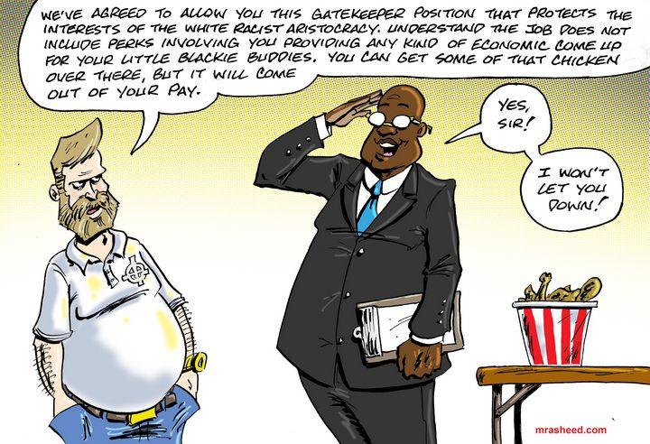 Guardian of the Big House - M. Rasheed Cartoons