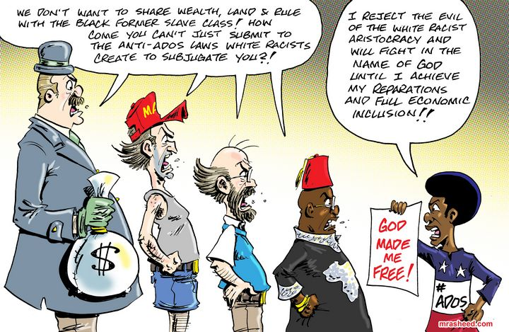 The So-Called 'Negro Problem' for... - M. Rasheed Cartoons