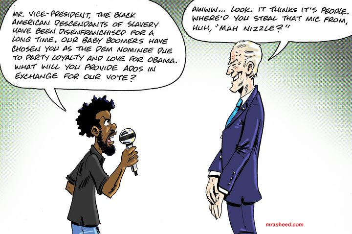 Interview with a Racist - M. Rasheed Cartoons