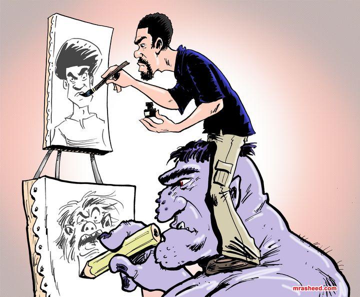 Conjuring Style - M. Rasheed Cartoons
