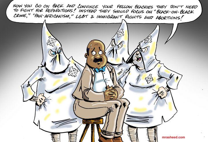 Weaponizing the Weak - M. Rasheed Cartoons