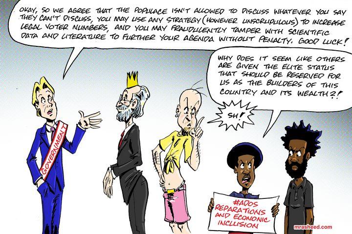 The Diabolical Usurpation of the... - M. Rasheed Cartoons