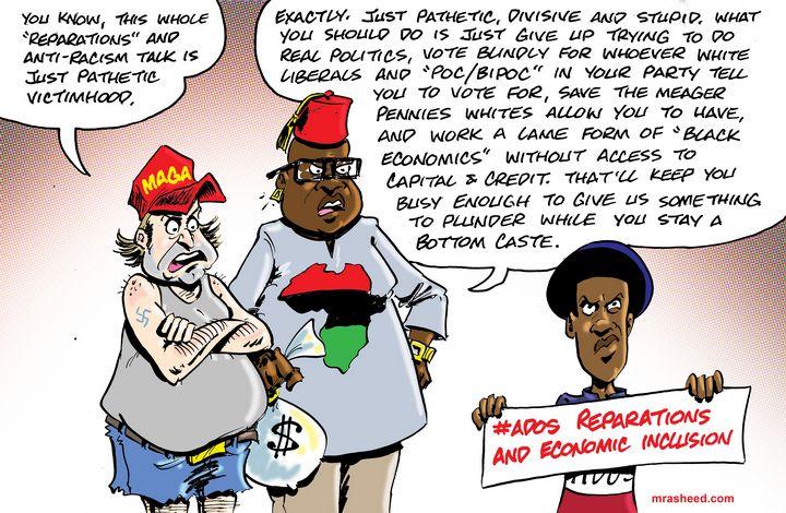 The 'Post-Racial' Psychological W... - M. Rasheed Cartoons