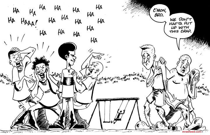 Roasted - Inktober 2018 (3/31) - M. Rasheed Cartoons