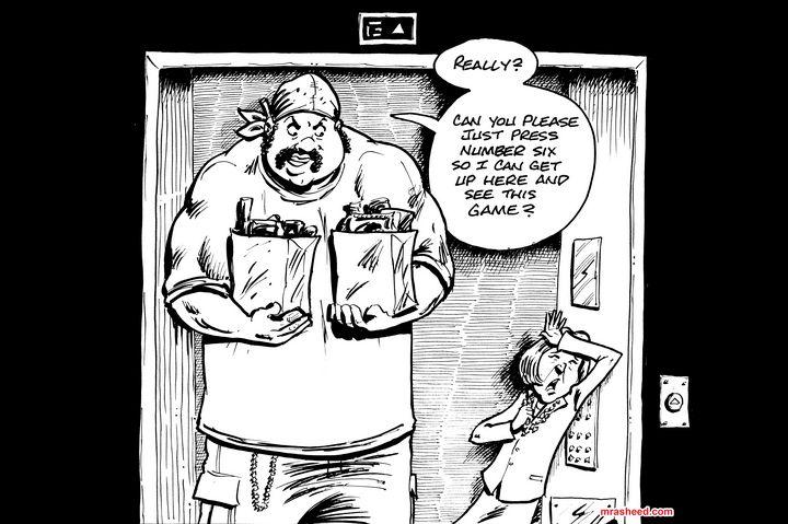 Spell - Inktober 2018 (4/31) - M. Rasheed Cartoons