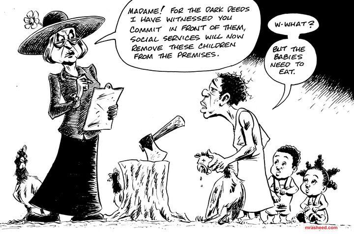 Chicken - Inktober 2018 (5\31) - M. Rasheed Cartoons
