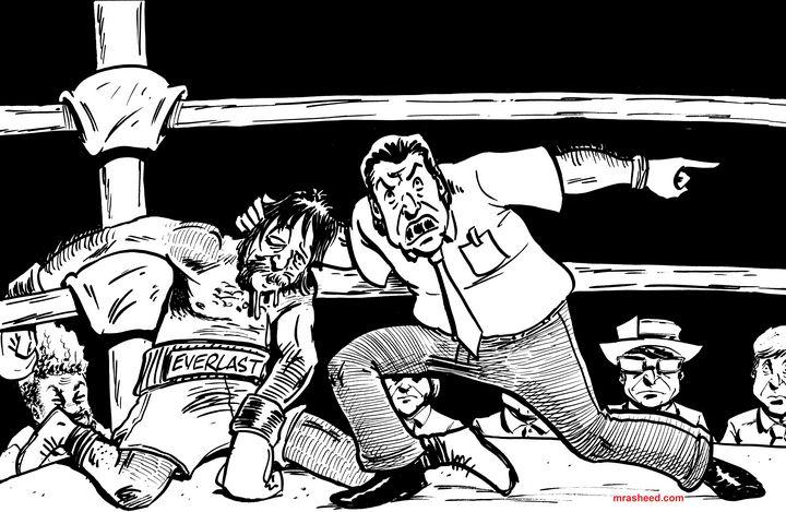 Drooling - Inktober 2018 (6\31) - M. Rasheed Cartoons
