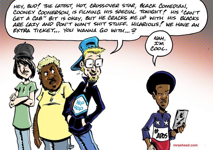 Humorous Confirmation Bias - M. Rasheed Cartoons