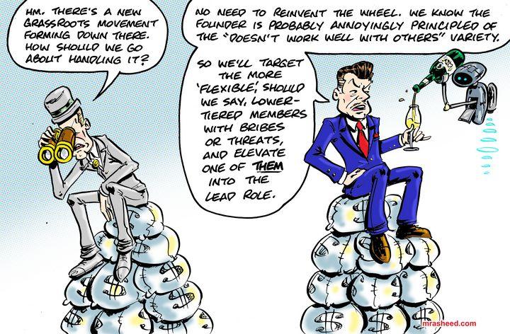 OPERATION: Disrupt Lawful Insurgency - M. Rasheed Cartoons