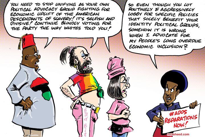 The Bullying Troll Antics of My D... - M. Rasheed Cartoons