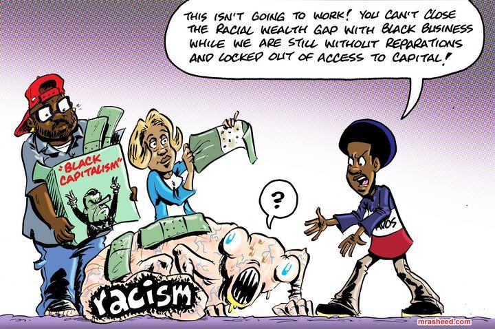 Team Bootstraps - M. Rasheed Cartoons