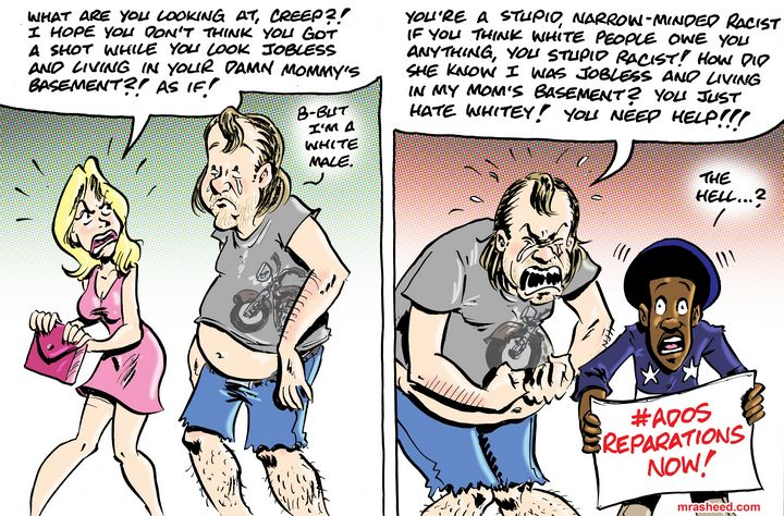 The Obligatory Counter Informal P... - M. Rasheed Cartoons