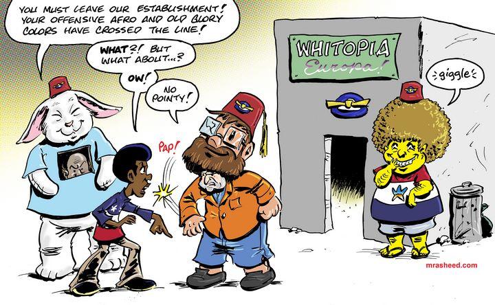 Any Ole Excuse Will Do - M. Rasheed Cartoons