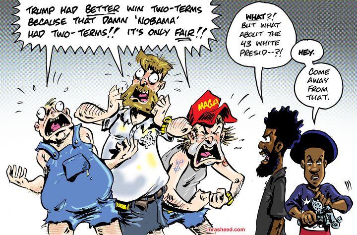 No Country for Reasonable Men - M. Rasheed Cartoons
