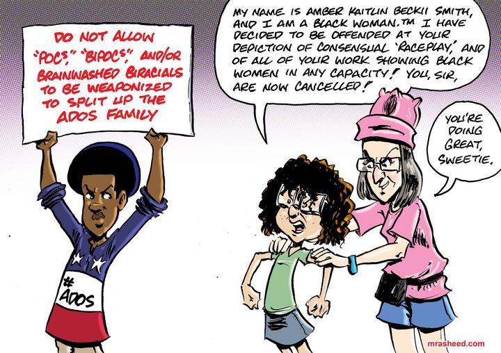 Notice Served - M. Rasheed Cartoons