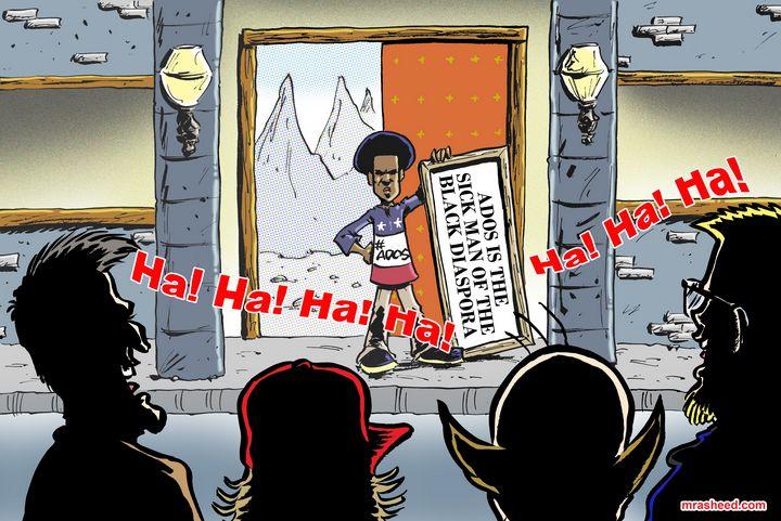 Return of the Master Race - M. Rasheed Cartoons