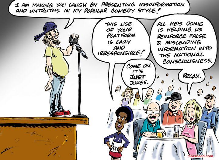 ATTENTION! Funnier When Stupid - M. Rasheed Cartoons
