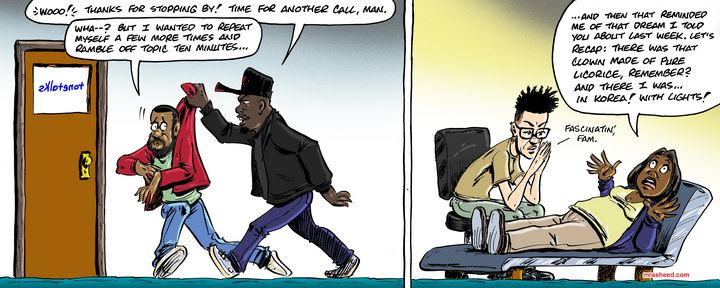 Time for Call-Ins: Contrasting St... - M. Rasheed Cartoons