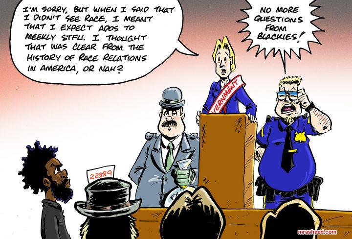 The Vital Need for True Political... - M. Rasheed Cartoons