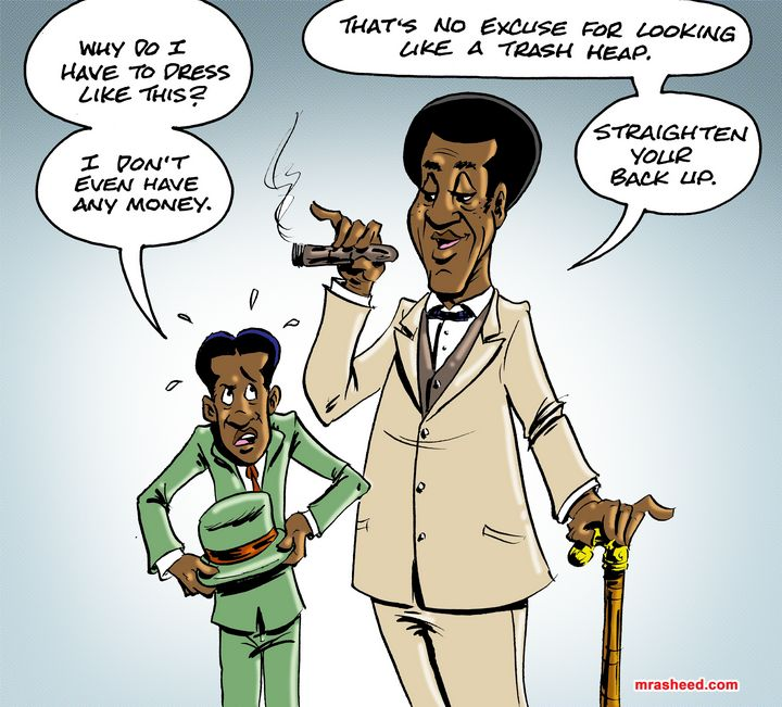 Rejecting the Call - M. Rasheed Cartoons