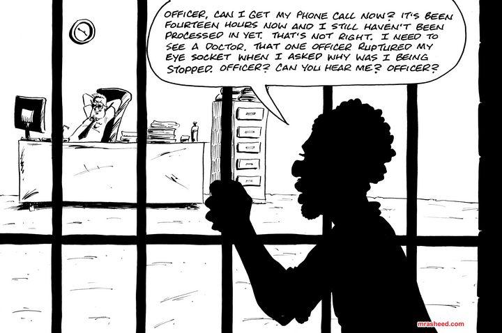 Clock - Inktober 2018 (14\31) - M. Rasheed Cartoons