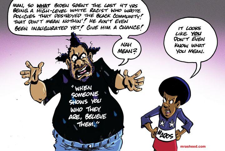 Trafficking in Confusion - M. Rasheed Cartoons