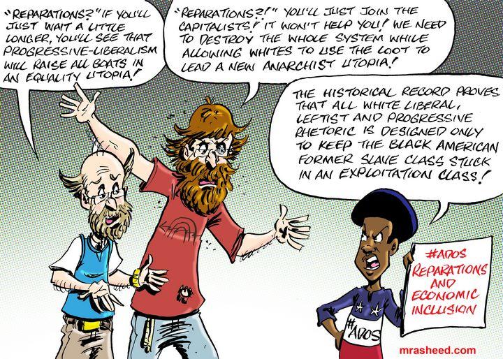 One Hundred Years of Convincing Lies - M. Rasheed Cartoons