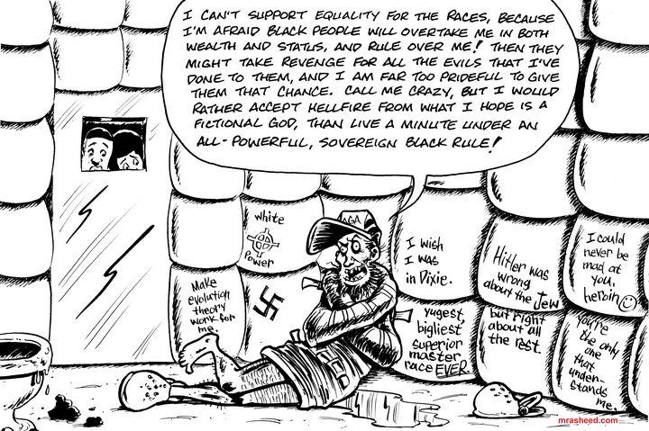 Weak - Inktober 2018 (15/31) - M. Rasheed Cartoons