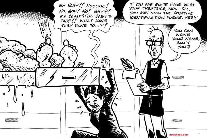 Swollen - Inktober 2018 (17\31) - M. Rasheed Cartoons