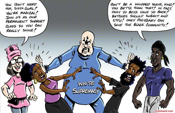 Layers of the Enemy's Anti-Unity... - M. Rasheed Cartoons