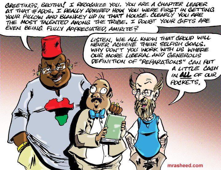 Recruitment in the Dirty Game - M. Rasheed Cartoons