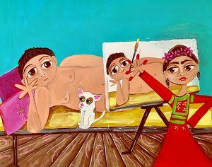 frida painting diego