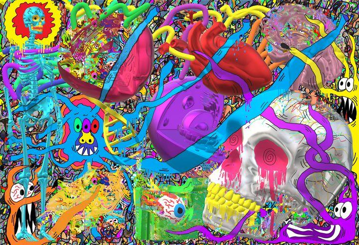 Bio-art - Grizzye