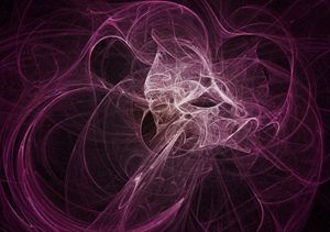 Shades of Pink Plasma Fractal