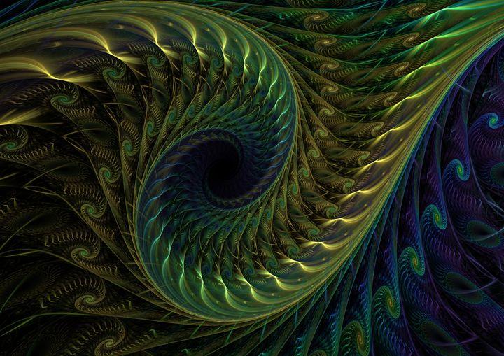 Peacock - Fantastic Fractals
