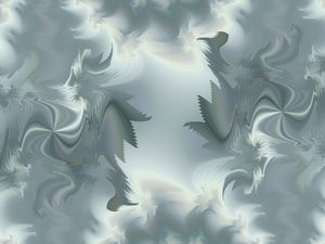 Storm in a fractal