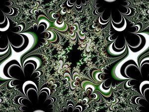 Chaotic Greens - Pauline Warman