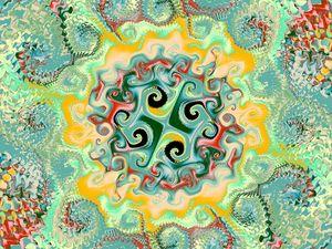 Fractal Art Pattern