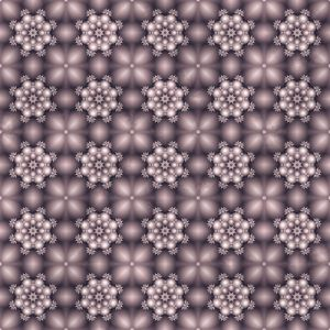 Repeating fractal pattern
