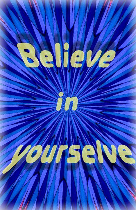 believe in yourself - veeralinndot