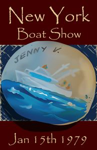 The Jenny V. - Fine Art by Jennifer Pedersen