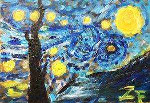 Starry Night by Van Goth