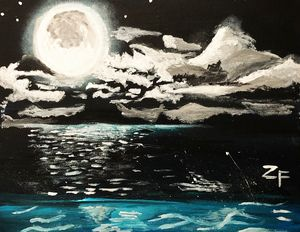 Night at the Beach - ZF art