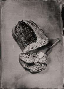 Sourdough Bread, Butter and a Knife