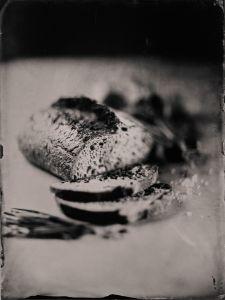 Sourdough Bread, Butter, Welsh Onion