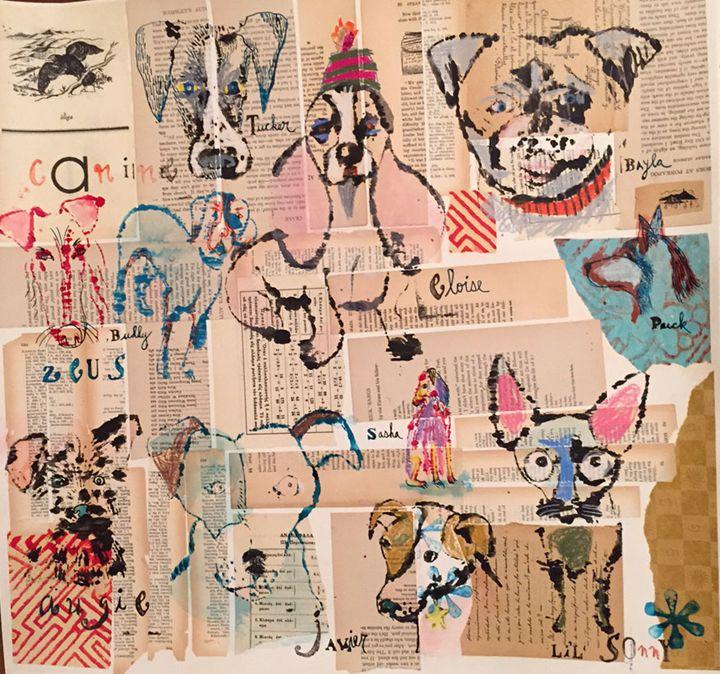 Eleven Dogs I Met - Karen Stanton Gallery
