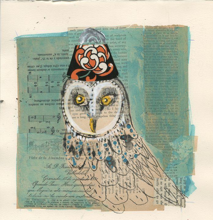 Parisian Barn Owl - Karen Stanton Gallery