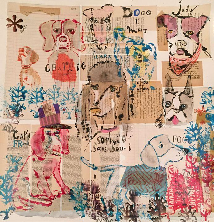 Dogs I Met - Karen Stanton Gallery
